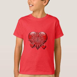 Camiseta Meu coração explode para você
