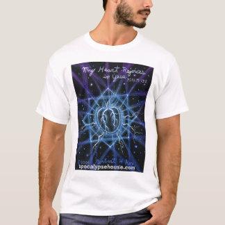 """Camiseta """"Meu coração exulta em Yesu"""" que um coração feliz"""