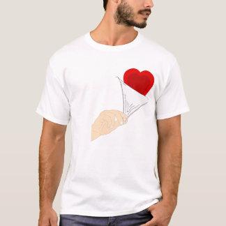 Camiseta Meu coração… para você…