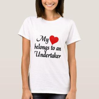 Camiseta Meu coração pertence a um empresário