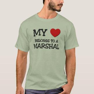 Camiseta Meu coração pertence a um MARECHAL