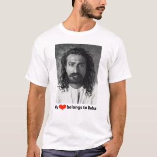 Camiseta Meu coração pertence ao babá