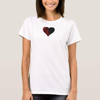 Camiseta Meu coração reside no país das maravilhas