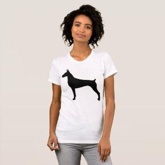 Camiseta Meu Doberman tem minha parte traseira