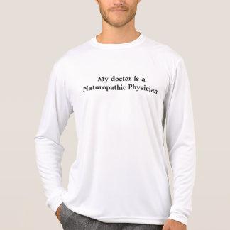 Camiseta Meu doutor é um médico de Naturopathic