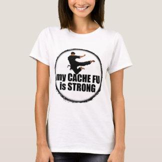 Camiseta Meu Esconderijo-Fu é t-shirt forte
