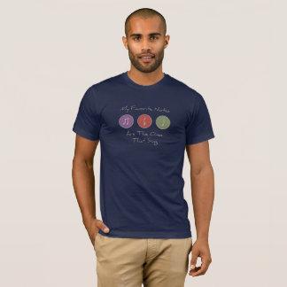 Camiseta Meu favorito nota o t-shirt