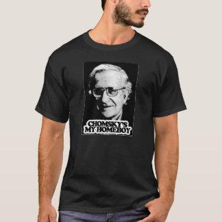 Camiseta Meu ficar em casa de Chomsky