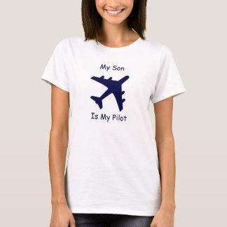 Camiseta Meu filho é meu piloto