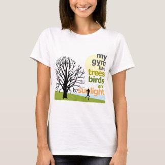 Camiseta Meu Gym tem árvores