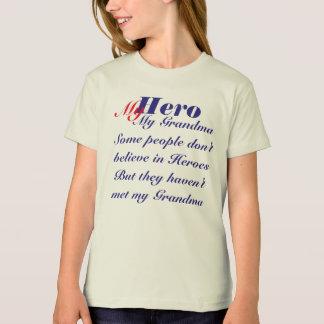 Camiseta Meu herói minha avó