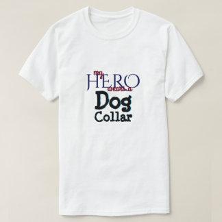 Camiseta Meu herói veste a coleira de cão