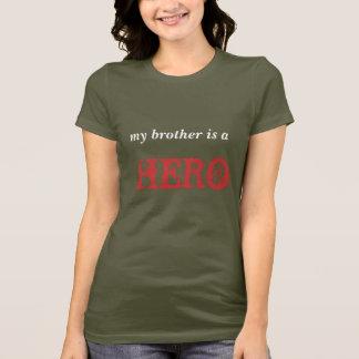 Camiseta meu irmão é um HERÓI