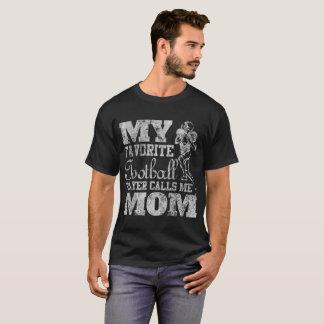 Camiseta Meu jogador de futebol favorito chama-me mamã