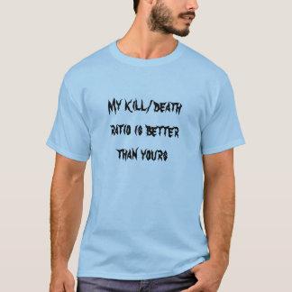 Camiseta Meu K/D é melhor do que seu