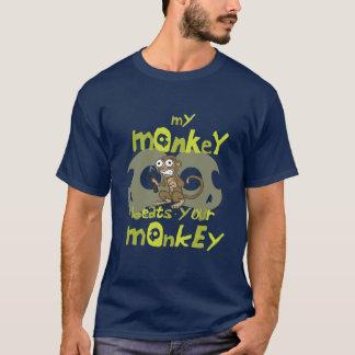 Camiseta Meu macaco bate seu macaco
