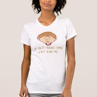 """Camiseta Meu """"melhor"""" amigo"""