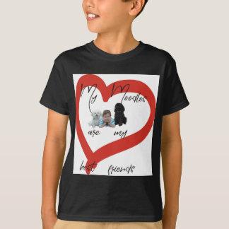 Camiseta Meu Moodles é meus melhores amigos