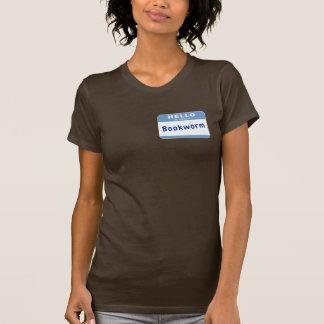 Camiseta Meu nome é leitor ávido