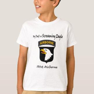 Camiseta Meu pai é Eagle gritando