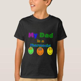 """Camiseta """"Meu pai é presentes/camisas dos miúdos de um"""