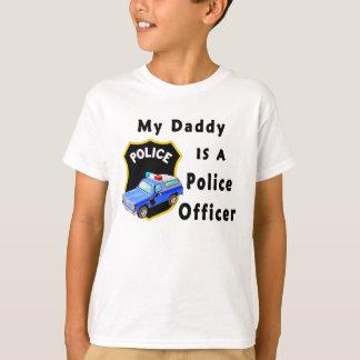 Camiseta Meu pai é um agente da polícia