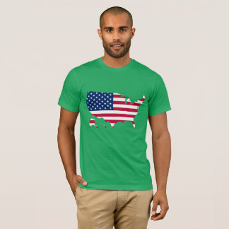 Camiseta Meu país star spangled