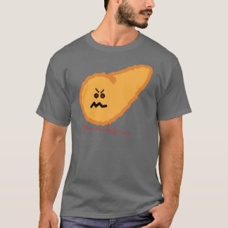 Camiseta meu pâncreas deia-me. Diabetes