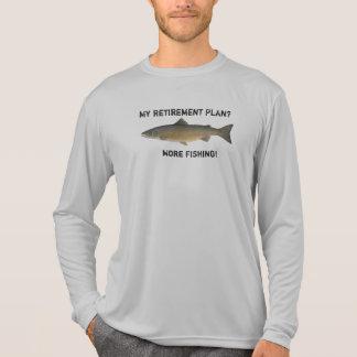 Camiseta Meu plano de aposentação - mais pesca