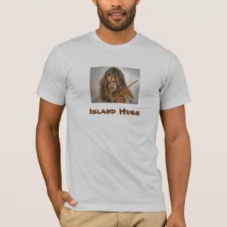 Camiseta Meu produto da maneira, matiz da ilha