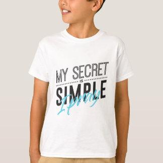 Camiseta Meu segredo é simples mim Pray