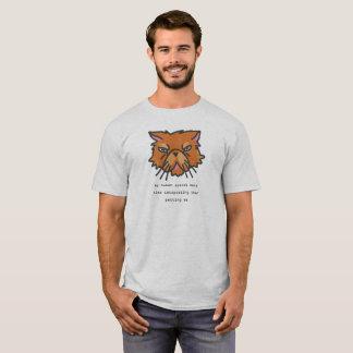 Camiseta Meu ser humano passa mais tempo Catspotting