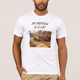 Camiseta Meu sobrinho é um gato
