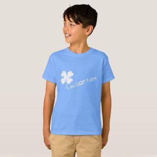 Camiseta Meu t-shirt afortunado com trevo