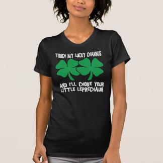 Camiseta Meu t-shirt afortunado dos encantos