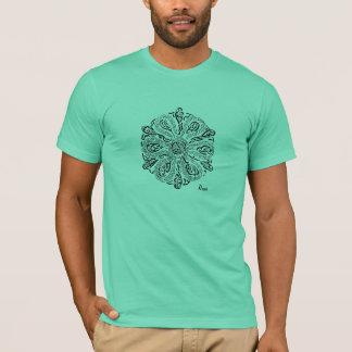 Camiseta Meu trajeto (uma mandala inspirada Rumi)