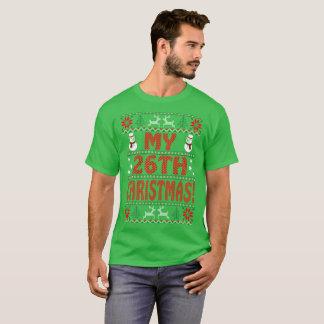 Camiseta Meu Tshirt feio do presente da camisola do 26o