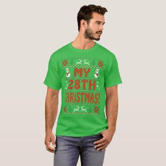 Camiseta Meu Tshirt feio do presente da camisola do 28o