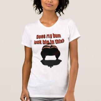 Camiseta Meu vagabundo olha grande neste?