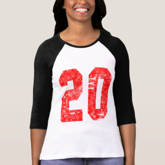 Camiseta Meus 20os presentes de aniversário