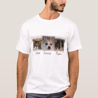 Camiseta meus 3 animais de estimação