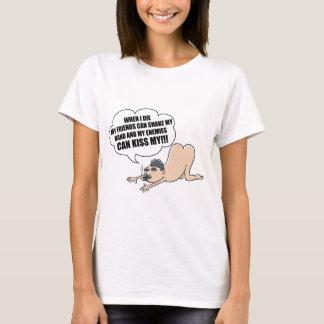 Camiseta Meus amigos e meu inimigo