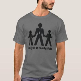 Camiseta Meus amores da família
