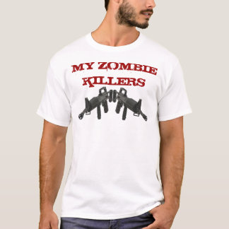 Camiseta Meus assassinos M-16 do zombi