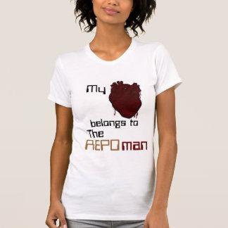 Camiseta Meus belings do coração ao Repoman