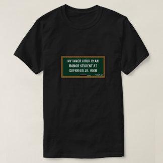 Camiseta Meus criança/estudante internos da honra - uma