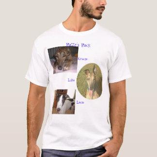 Camiseta Meus filhotes de cachorro