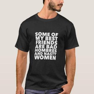 Camiseta Meus melhores amigos são Hombres mau e mulheres