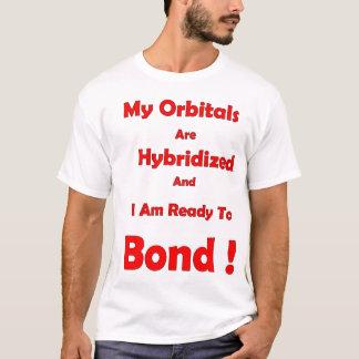 Camiseta Meus orbitals são cruzados e eu estou pronto para