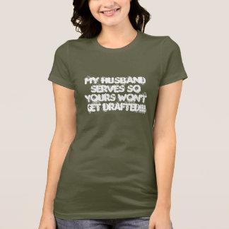 Camiseta MEUS saques assim que seu do marido não obterão